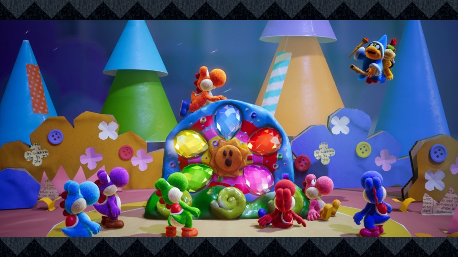 Yoshi's Crafted World e Kirby Extra Epic Yarn