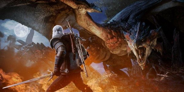 The Witcher invade Monster Hunter World
